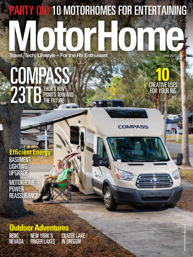 Blame It on Reno - MotorHome Magazine - May 2017-1